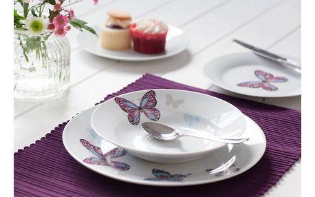 12dílný porcelánový set nádobí Sabichi Mariposa