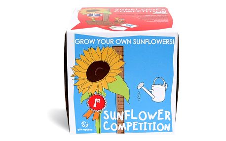 Pěstitelský set Gift Republic Sunflower Competition