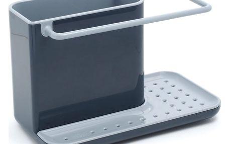 Šedý stojánek na mycí prostředky Joseph Joseph Caddy Sink Tidy