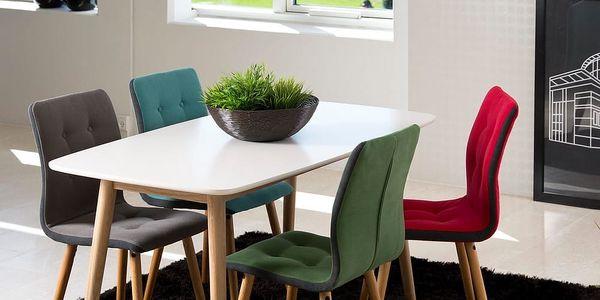 Sada 2 zelených jídelních židlí Actona Frida - doprava zdarma!2