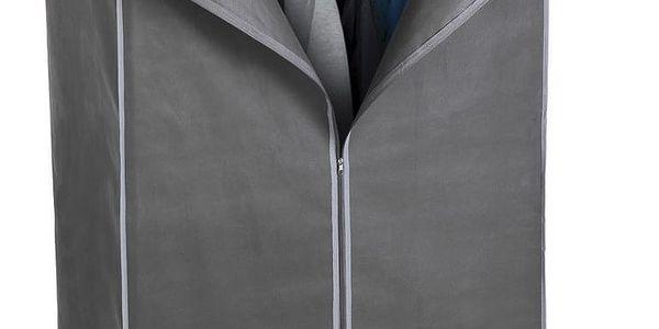 Textilní šatní skříň 75 x 45 x 160 cm2