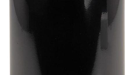 Kosmetický pedálový koš, 3 l, černá