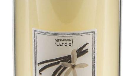 Aroma svíčka s vůní madagaskarské vanilky Copenhagen Candles Talll, doba hoření 70 hodin