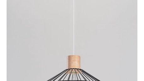 Černé závěsné svítidlo Nice Lamps Avilla - doprava zdarma!