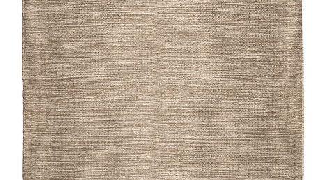 Oboustranný bavlněný koberec ZFK I Like Sand, 150 x 80 cm