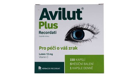 AVILUT Plus Recordati 150 kapslí