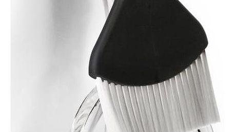 Černá lopatka a smetáček Qualy&CO Sweepie Sparrow