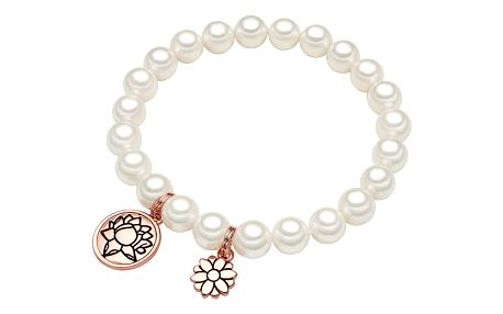 Perlový náramek Perldesse Ina, perla,⌀0,8xdélka18cm
