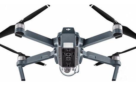 Dron DJI Mavic Pro Fly More Combo, 4K Full HD kamera šedý (DJIM0250C)