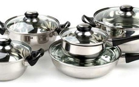 Vetro Plus sada nerezového nádobí Apetit 10 ks