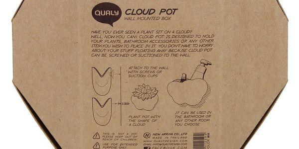 Nástěnný stojánek Qualy&CO Cloud3
