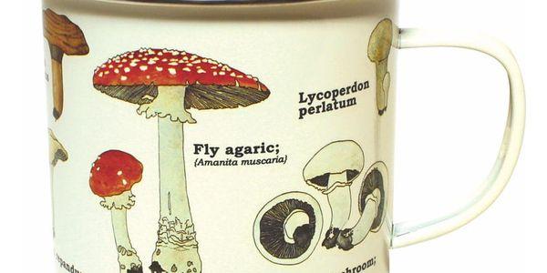Smaltovaný hrnek Gift Republic Mushroom