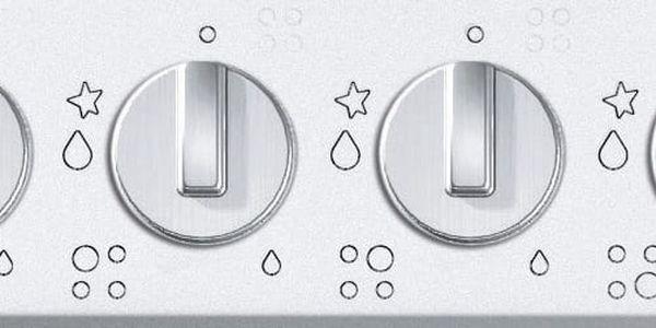 Plynová varná deska Mora VDP 645 X1 nerez4