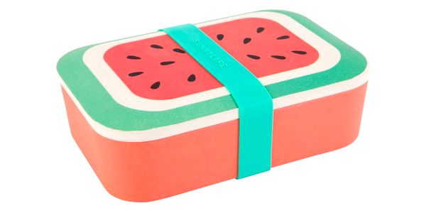 Bambusový box na svačinu Sunnylife Eco Watermelon2