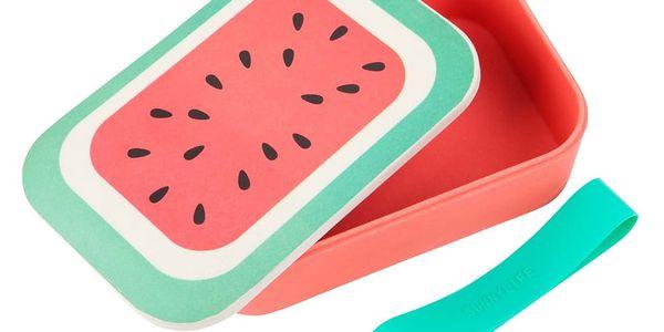 Bambusový box na svačinu Sunnylife Eco Watermelon3