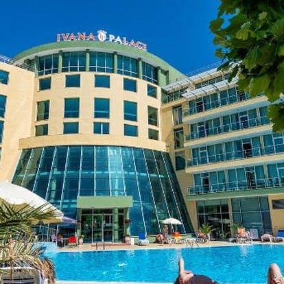 Bulharsko - Slunečné Pobřeží na 8 až 12 dní, polopenze s dopravou letecky z Bratislavy 300 m od pláže
