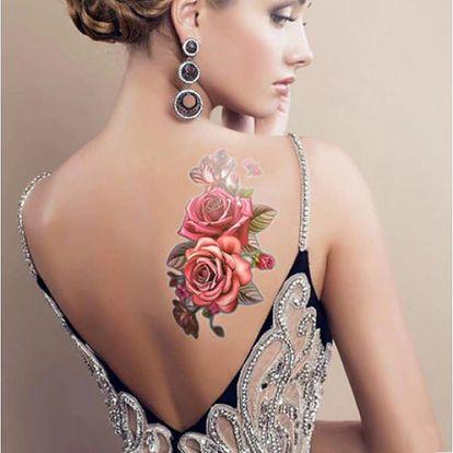Dočasné tetování ROSES