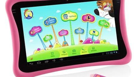 """Dotykový tablet GoGEN MAXPAD9 G4P 9"""", 8 GB, WF, Android 4.4 (MAXPAD9G4P) růžový Software F-Secure SAFE, 3 zařízení / 6 měsíců v hodnotě 979 Kč + DOPRAVA ZDARMA"""
