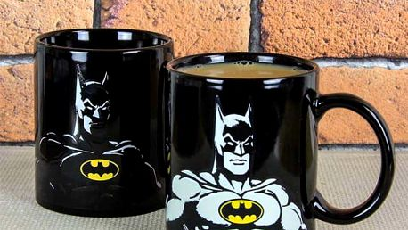 Hrnek reagující na teplo Batman