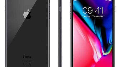 Mobilní telefon Apple iPhone 8 Plus 256 GB - Space Gray (MQ8P2CN/A) Software F-Secure SAFE, 3 zařízení / 6 měsíců v hodnotě 979 Kč + DOPRAVA ZDARMA