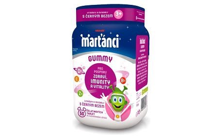 WALMARK Marťánci Gummy 20 mg Černý bez 50 kusů