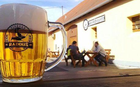 2 piva dle výběru: Pilsner Ilgner i Sam Ale