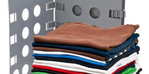 Deska na rychlé skládání oblečení - šedá4