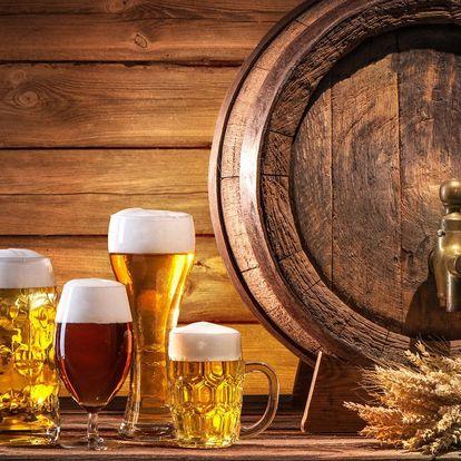 Až 8 piv z pestré nabídky včetně speciálů