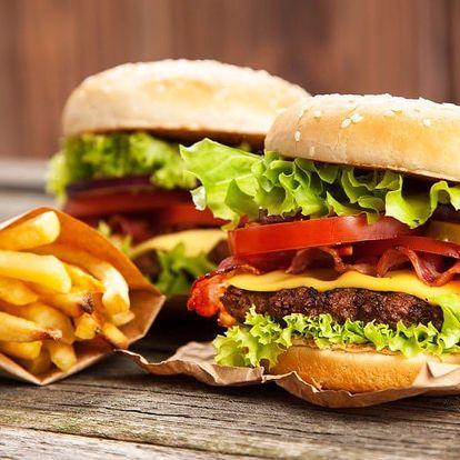 Pořádně nacpané burgery pro jednoho či pro dva