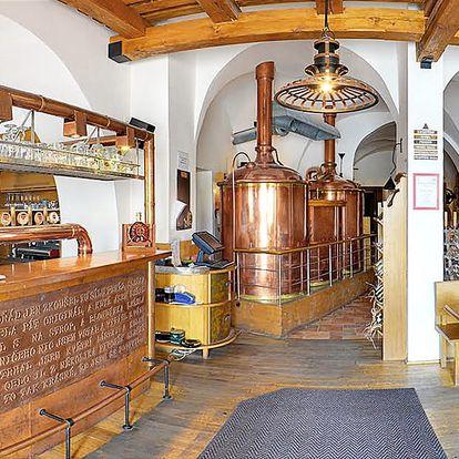Pobyt plný zážitků v kroměřížském pivovaru
