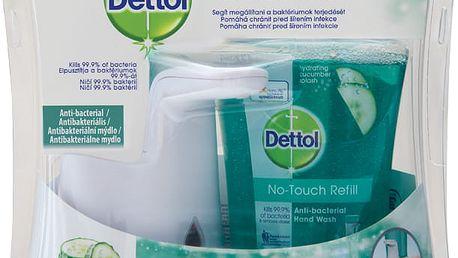 DETTOL Bezdotykový dávkovač mýdla – Svěžest okurky (250 ml)