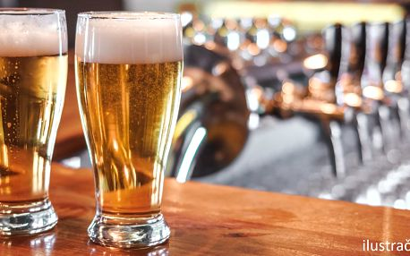 Dvě piva za cenu jednoho ve Zlatém Naganu
