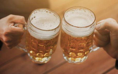 2, 4 nebo 6 řízných piv z Minipivovaru Hukvaldy