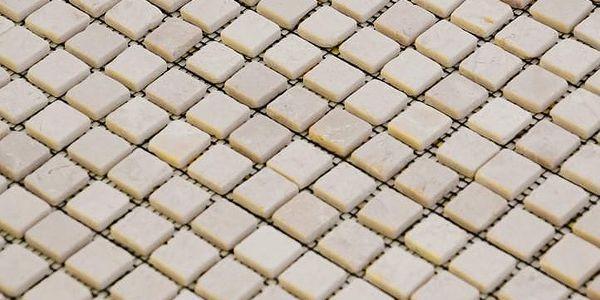 Divero Garth 27855 Mramorová mozaika krémová 30 x 30 cm 1 ks2