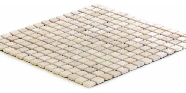 Divero Garth 27855 Mramorová mozaika krémová 30 x 30 cm 1 ks3