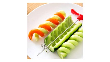 Spirálový nůž na úpravu ovoce a zeleniny