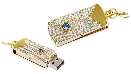 Flash disk USB 8 GB – modrý kámen