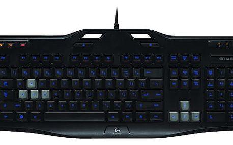 Klávesnice Logitech Gaming G105 US černá (920-005057)