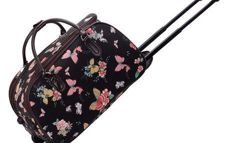 Dámská cestovní taška Nicki 308C černá