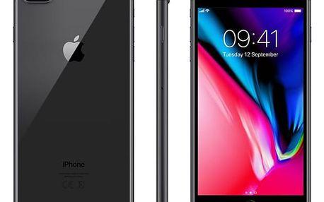 Mobilní telefon Apple iPhone 8 Plus 64 GB - Space Gray (MQ8L2CN/A) Software F-Secure SAFE, 3 zařízení / 6 měsíců v hodnotě 979 Kč + DOPRAVA ZDARMA
