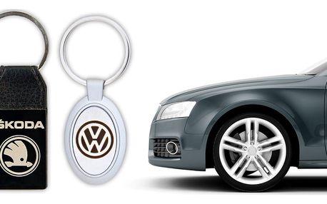 Klíčenky s logem značky automobilu - 2 provedení
