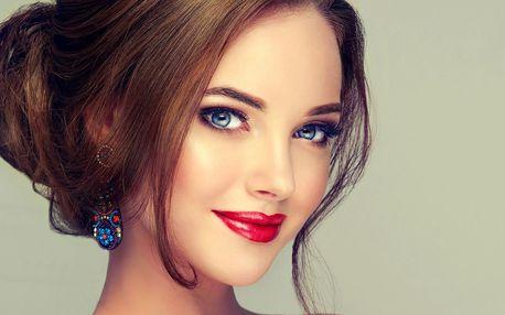 Kosmetické ošetření dle výběru vč. barvení řas