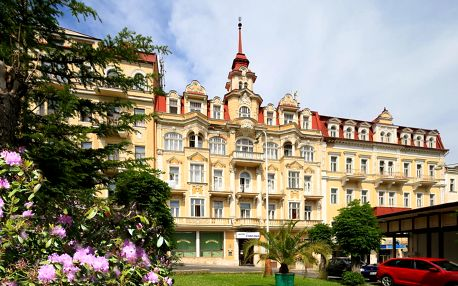 Západočeské lázně: Hotel Fontána Mariánské Lázně