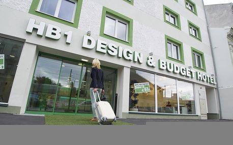 Vídeň: HB1 Design & Budget Hotel