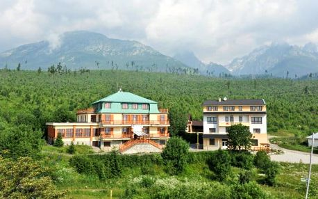 Vysoké Tatry s polopenzí a saunou