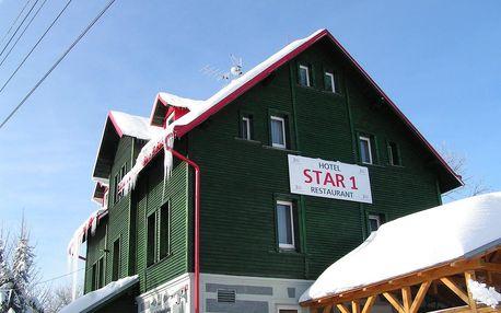 Krušné hory: Hotel Star 1, 2