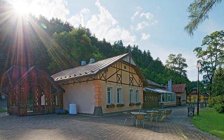Pieniny - Slovensko: Rekreačné zariadenie Dunajec Village