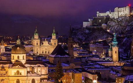 Salzburg a Schladming v Rakousku - výlet na rej čertů a trhy