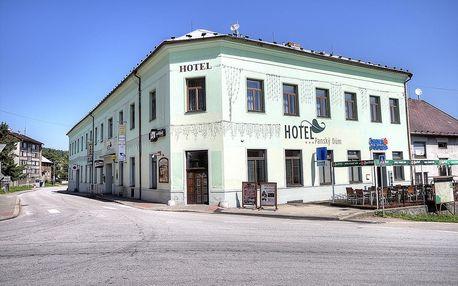 Šumava: Hotel Panský dům - Vyšší Brod