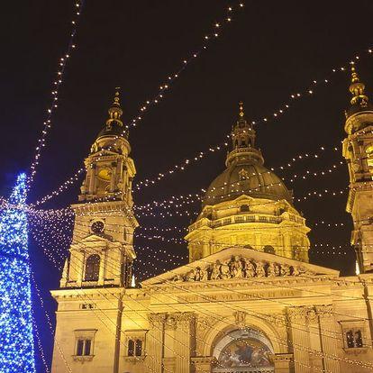 Adventní Budapešť - jednodenní zájezd z Moravy